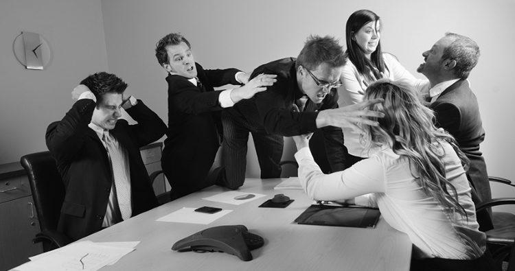 Работа с конфликтами в коллективе